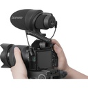 Saramonic CamMic Camera-Mount Shotgun Microphone for DSLR Cameras and Smartphones