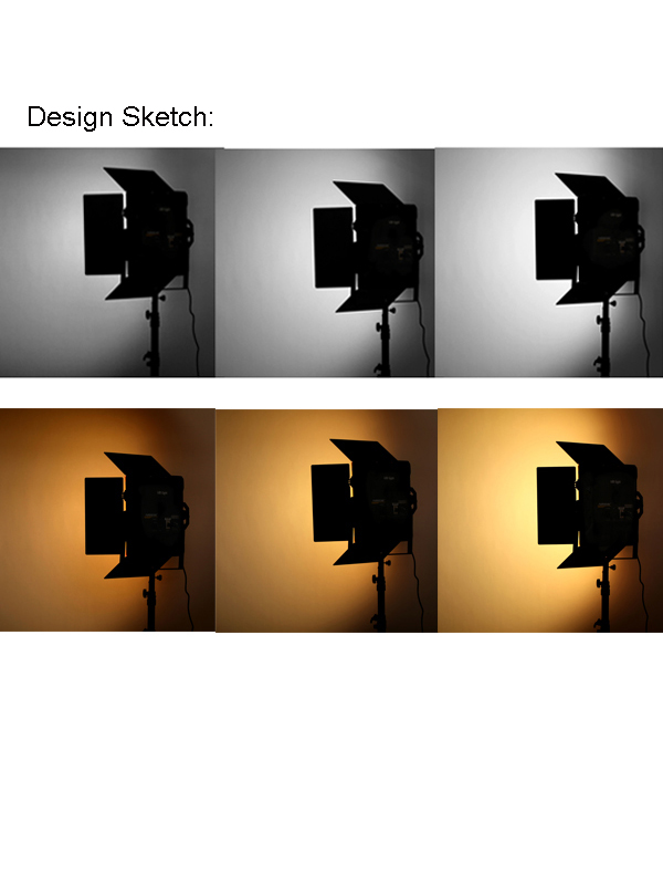 Farseeing 120W LED FD-LED572T/FD-LED572D Studio Lights