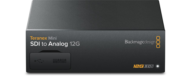 Blackmagic Teranex Mini SDI to Analog 12G
